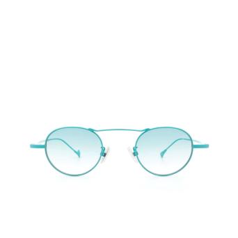 Eyepetizer® Round Sunglasses: Yves color Turquoise C.14-21.