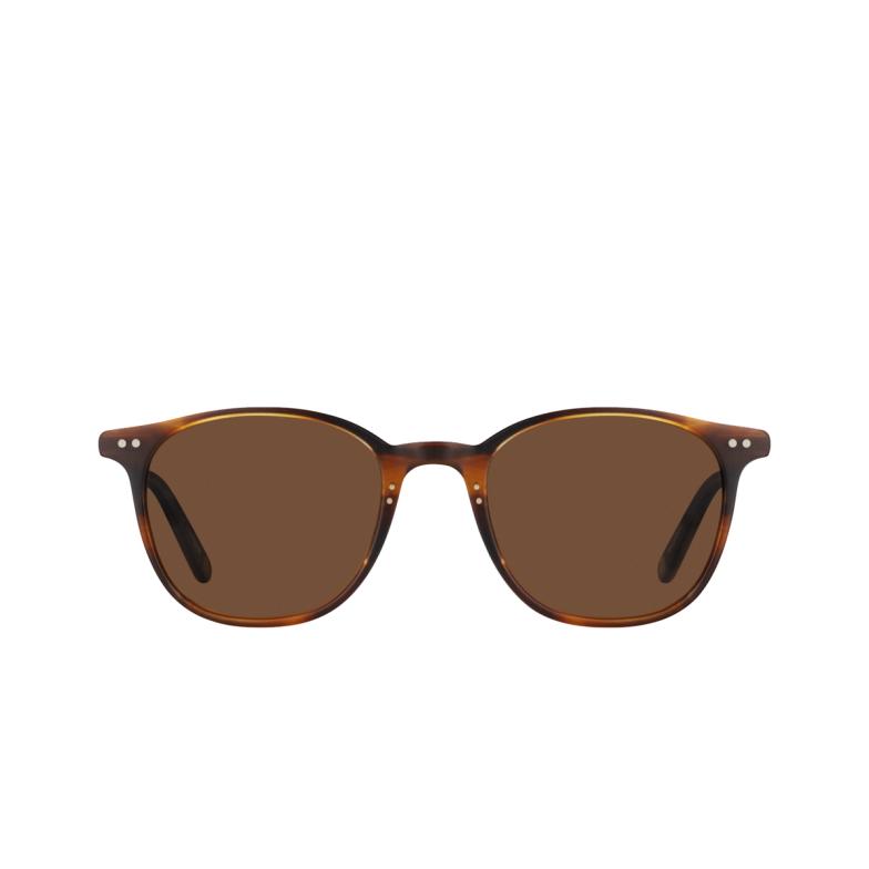 Garrett Leight® Square Sunglasses: Beach Sun color Matte Mahogany-gold Mat-mg-o.