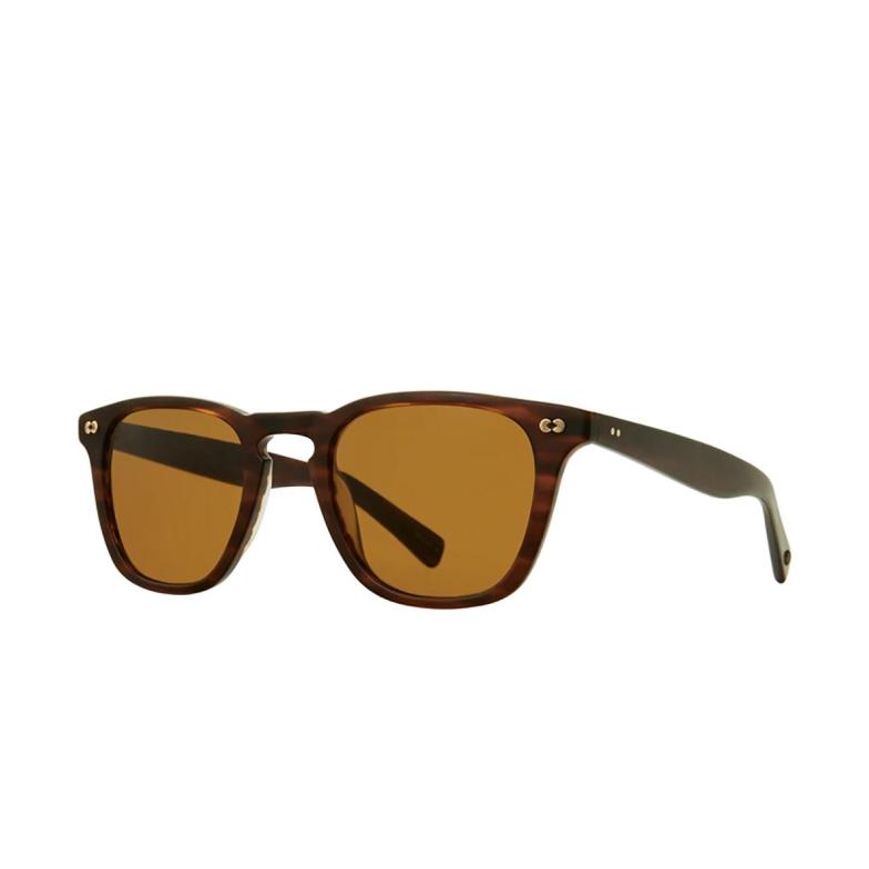 Garrett Leight® Square Sunglasses: Brooks X Sun color Matte Brandy Tort Mbrt/pbn.