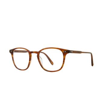 Garrett Leight® Square Eyeglasses: Clark color Demi Blonde Db.