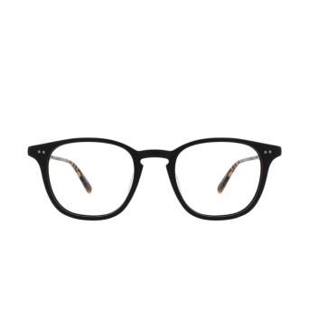 Garrett Leight® Square Eyeglasses: Clark color Matte Black Mbk-mbk-dkft.