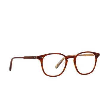 Garrett Leight® Square Eyeglasses: Clark color Matbrown Tort Lam Mbtl.