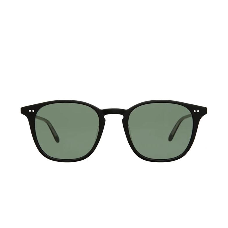 Garrett Leight® Square Sunglasses: Clark Sun color Matte Black MBK/SFPG15.