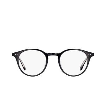 Garrett Leight® Round Eyeglasses: Clune color Black Laminate Bklcy.