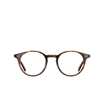 Garrett Leight® Round Eyeglasses: Clune color Brandy Tortoise Brt.