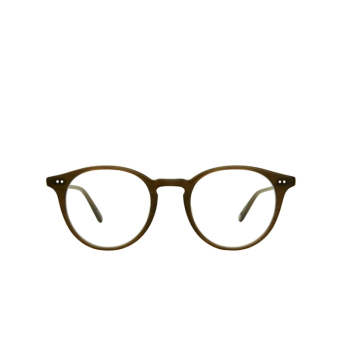 Garrett Leight® Round Eyeglasses: Clune color Olive Olv.