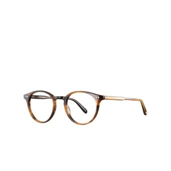 Garrett Leight® Round Eyeglasses: Clune color True Demi Td.