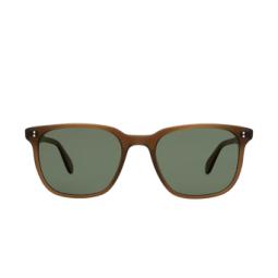 Garrett Leight® Sunglasses: Emperor Sun color Matte Espresso Mesp/grng Plr.