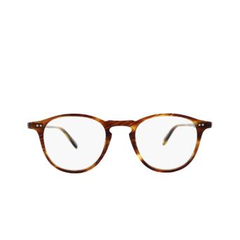 Garrett Leight® Round Eyeglasses: Hampton color Chestnut Cn.