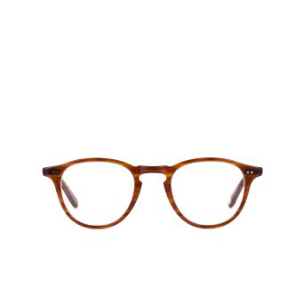 Garrett Leight® Round Eyeglasses: Hampton color Demi Blonde Db.
