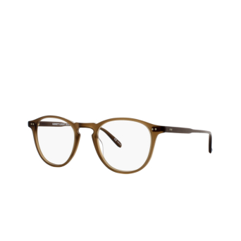 Garrett Leight® Round Eyeglasses: Hampton color Matte Espresso Mesp.
