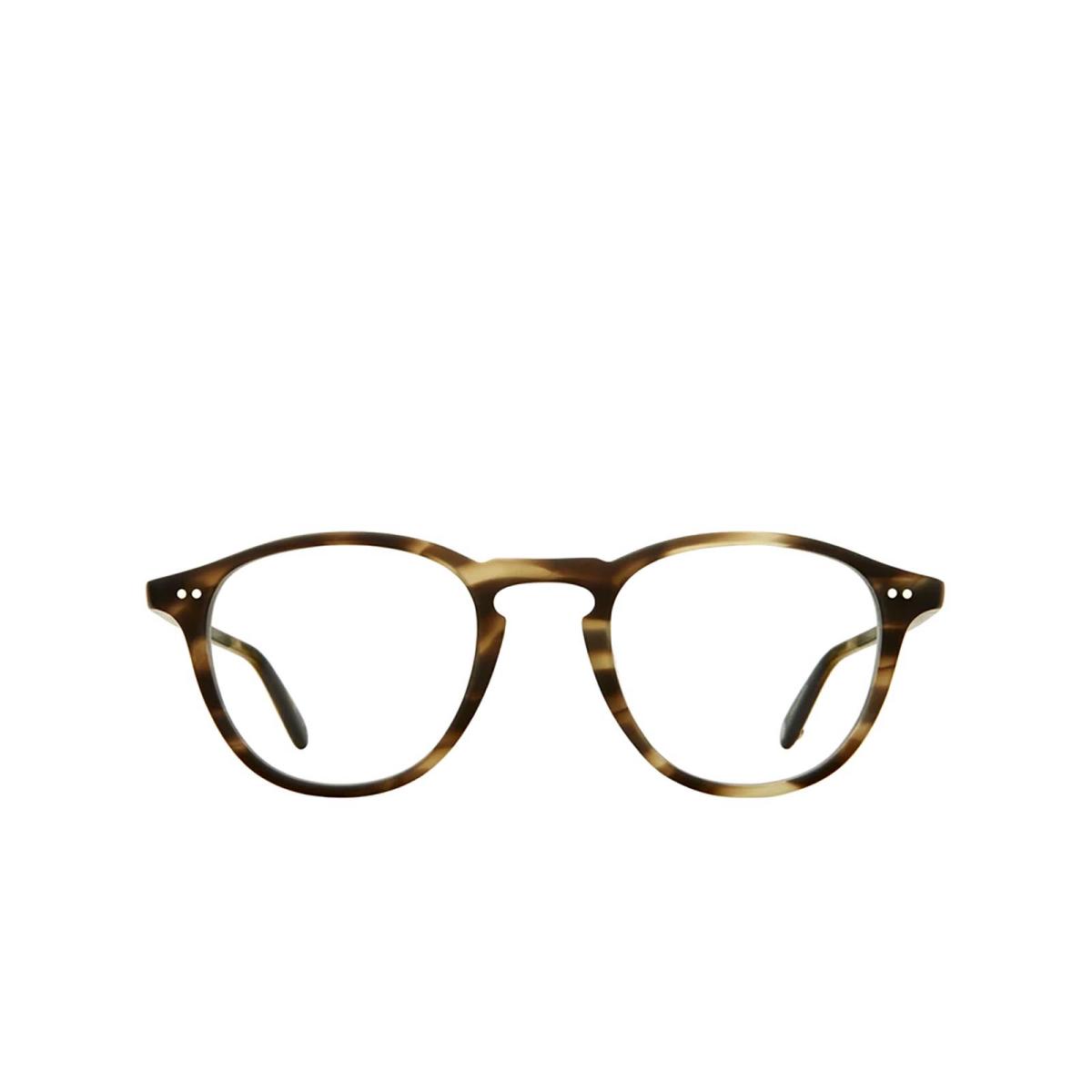 Garrett Leight® Round Eyeglasses: Hampton color Matte Kodiak Tortoise Mkot.