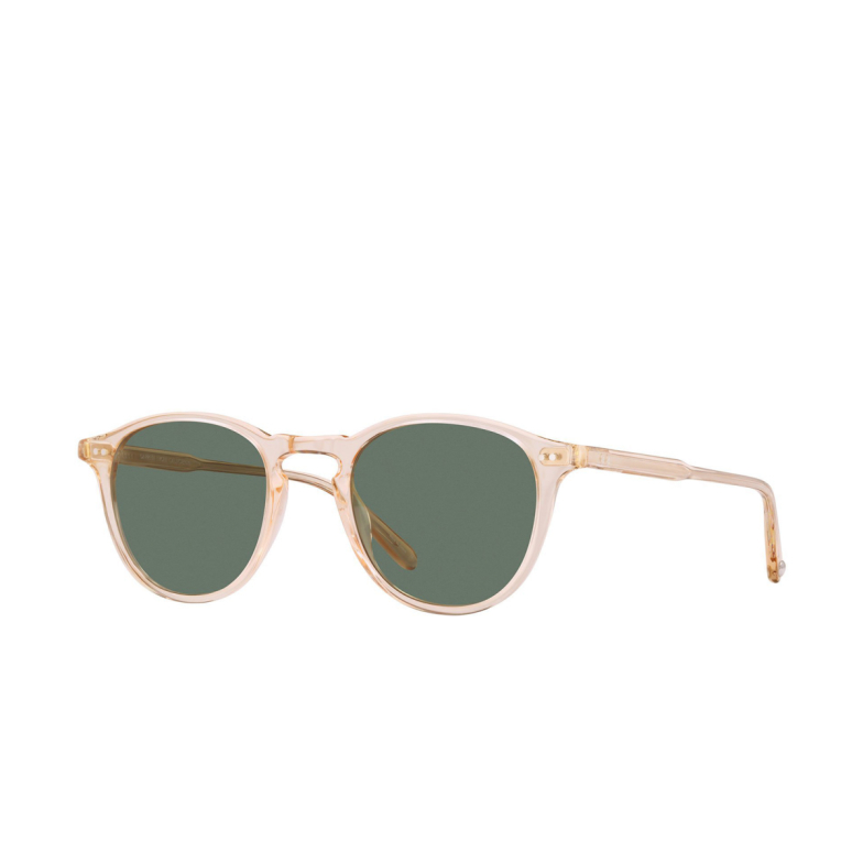 Garrett Leight® Round Sunglasses: Hampton Sun color Pink Crystal PCY/SFPG15.