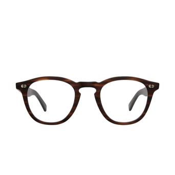 Garrett Leight® Square Eyeglasses: Hampton X color Matte Brandy Tort Mbrt.