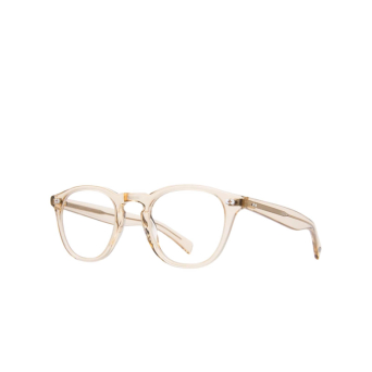 Garrett Leight® Square Eyeglasses: Hampton X color Nude Nu.