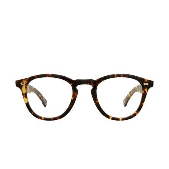 Garrett Leight® Square Eyeglasses: Hampton X color Tuscan Tortoise Tut.