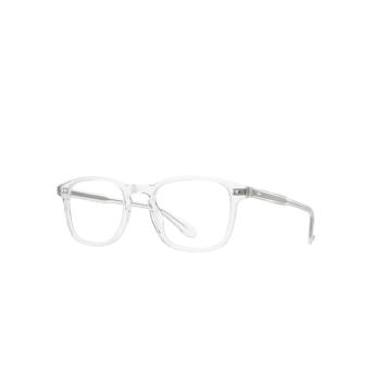 Garrett Leight® Square Eyeglasses: Howland color Crystal Cr.
