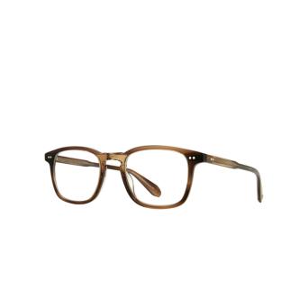 Garrett Leight® Square Eyeglasses: Howland color Khaki Tortoise Kht.