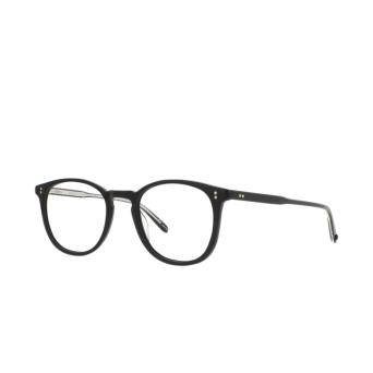 Garrett Leight® Round Eyeglasses: Kinney color Matte Black Mbk.