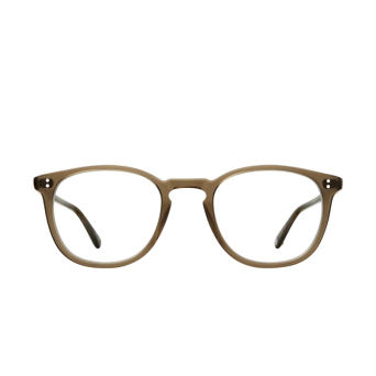 Garrett Leight® Round Eyeglasses: Kinney color Olio.