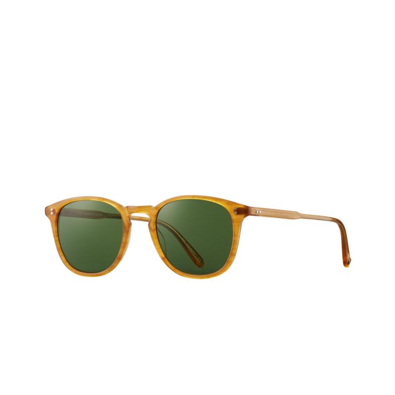 Garrett Leight® Square Sunglasses: Kinney Sun color Butterscotch Bt-pgn.
