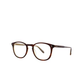 Garrett Leight® Square Eyeglasses: Kinney color Whiskey Tortoise Wht.