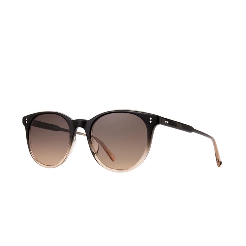 Garrett Leight® Round Sunglasses: Marian Sun color Shadow Drift Shd/sfsmkyg.