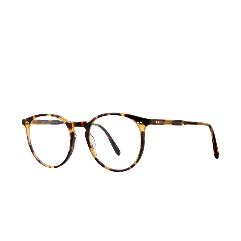 Garrett Leight® Round Eyeglasses: Morningside color Dark Tortoise Dkt.