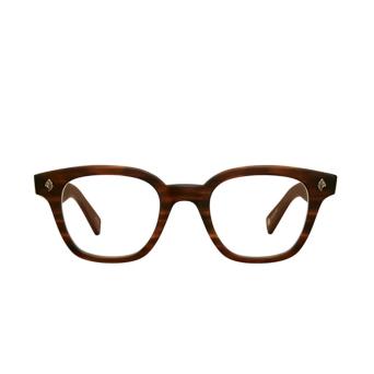 Garrett Leight® Square Eyeglasses: Naples color Matte Brandy Tort Mbrt.