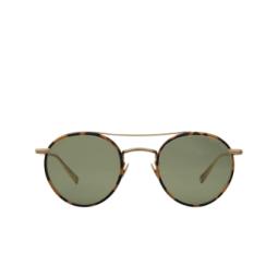 Garrett Leight® Sunglasses: Rimowa X Glco Sun color Tokyo Tort-matte Gold Tt-mg/sfgrn.