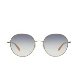 Garrett Leight® Sunglasses: Valencia Sun color Gold-peach G-p/lng.