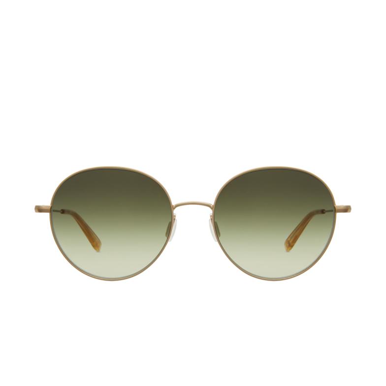 Garrett Leight® Round Sunglasses: Valencia Sun color Matte Gold-blonde Mg-b/og M.