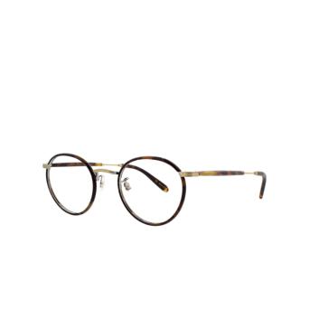 Garrett Leight® Round Eyeglasses: Wilson color Bourbon-tortoise Bbt-mst.