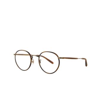 Garrett Leight® Round Eyeglasses: Wilson color Demi Blonde-gold Db-bg-td.