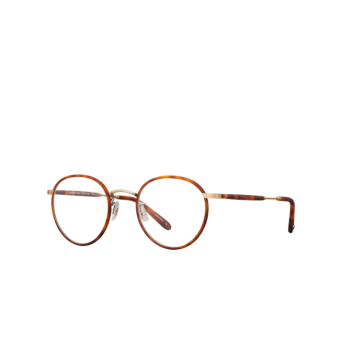 Garrett Leight® Round Eyeglasses: Wilson color Butterscotch-tort Mbt-ag-mdht.