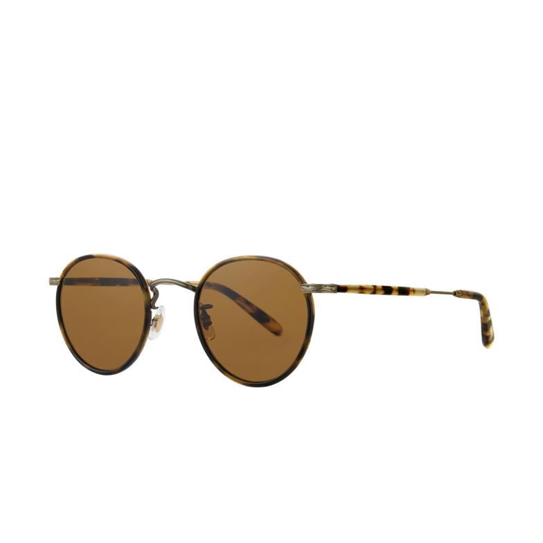 Garrett Leight® Round Sunglasses: Wilson Sun color Tort-antique Gold To-atgii-yt/sfp.