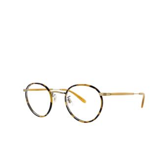 Garrett Leight® Round Eyeglasses: Wilson color Tortoise-amber Tt-ah.