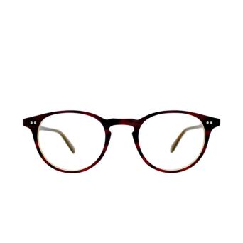 Garrett Leight® Round Eyeglasses: Winward color Brandy Tortoise Brt.