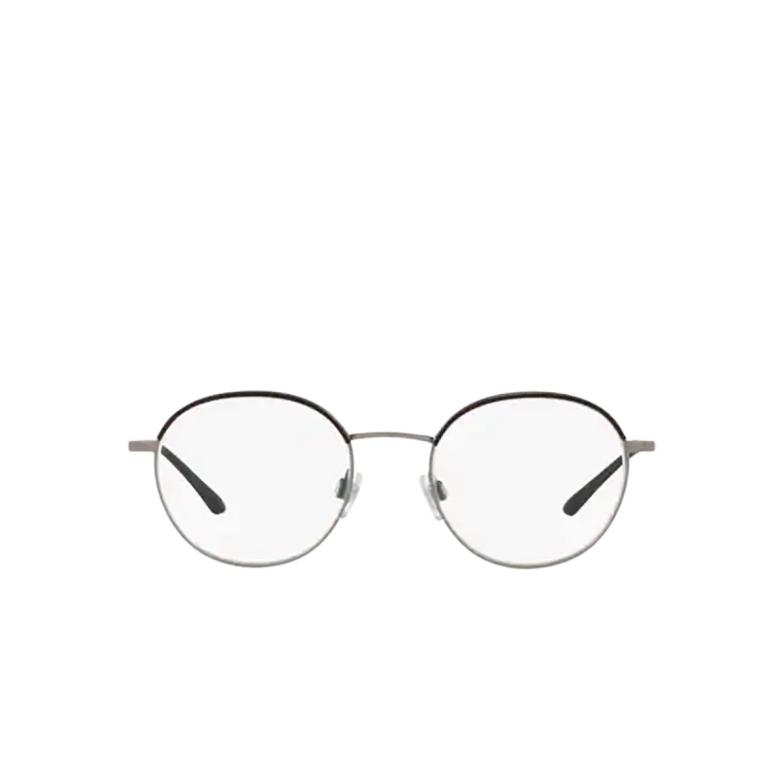 Giorgio Armani® Round Eyeglasses: AR5070J color Matte Gunmetal / Black 3321.