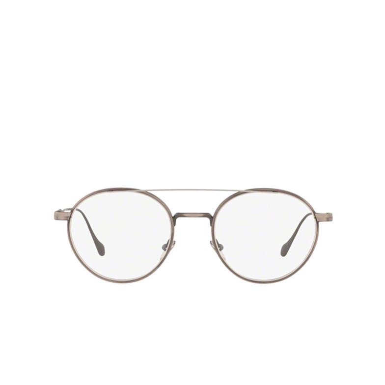 Giorgio Armani® Round Eyeglasses: AR5089 color Brushed Grey &matte Silver 3260.