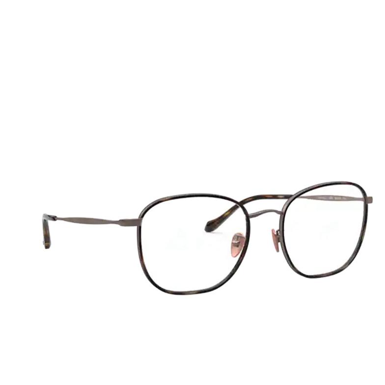 Giorgio Armani® Square Eyeglasses: AR5105J color Brown Havana / Bronze 3006.