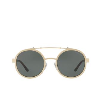 Giorgio Armani® Round Sunglasses: AR6070 color Pale Gold 300271.