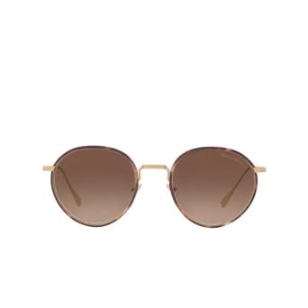Giorgio Armani® Round Sunglasses: AR6103J color Matte Pale Gold 300213.