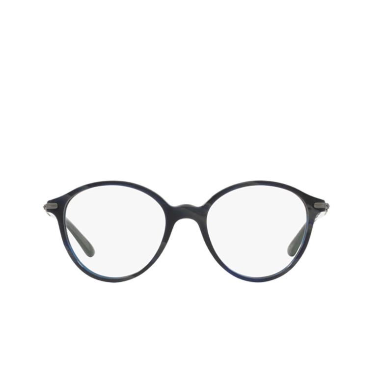 Giorgio Armani® Round Eyeglasses: AR7029 color Brushed Black 5001.