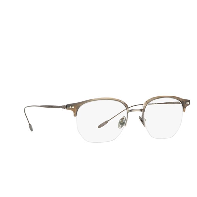 Giorgio Armani® Square Eyeglasses: AR7153 color Striped Grey 5659.
