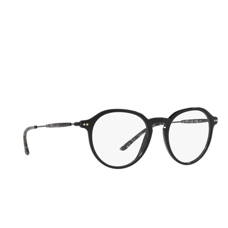 Giorgio Armani® Round Eyeglasses: AR7156 color Black 5017.