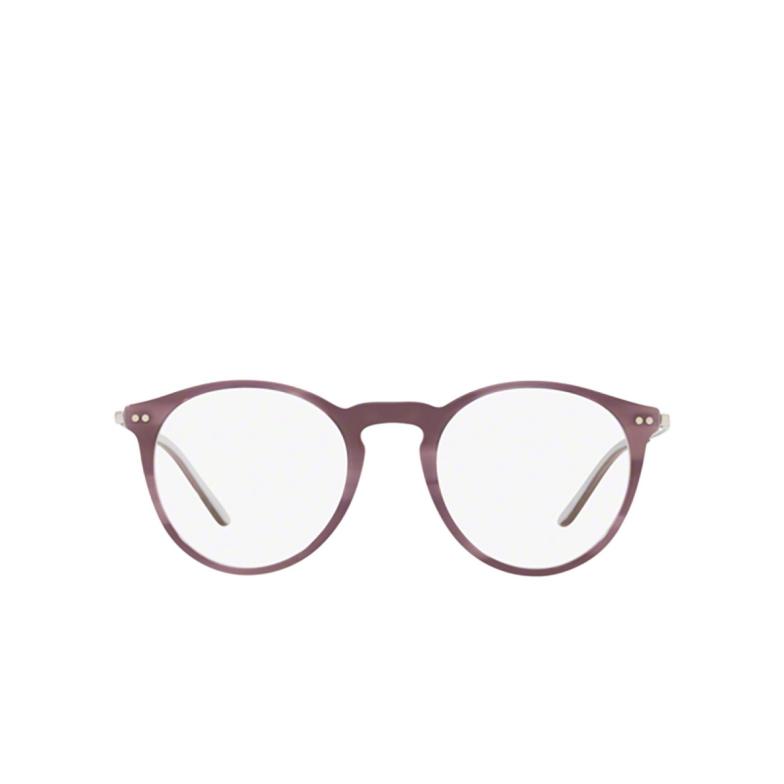 Giorgio Armani® Round Eyeglasses: AR7161 color Light Violet 5689.