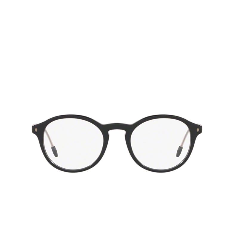Giorgio Armani® Round Eyeglasses: AR7168 color Black 5001.