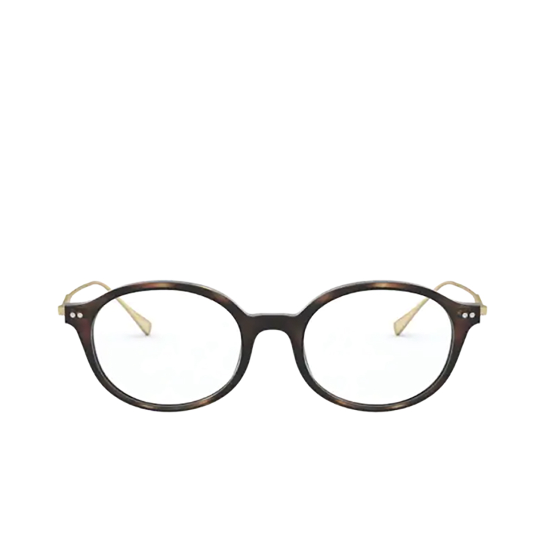 Giorgio Armani® Round Eyeglasses: AR7181 color Matte Havana 5089.
