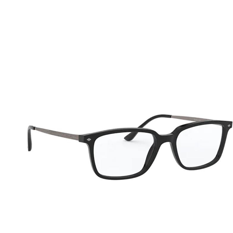 Giorgio Armani® Rectangle Eyeglasses: AR7183 color Black 5001.